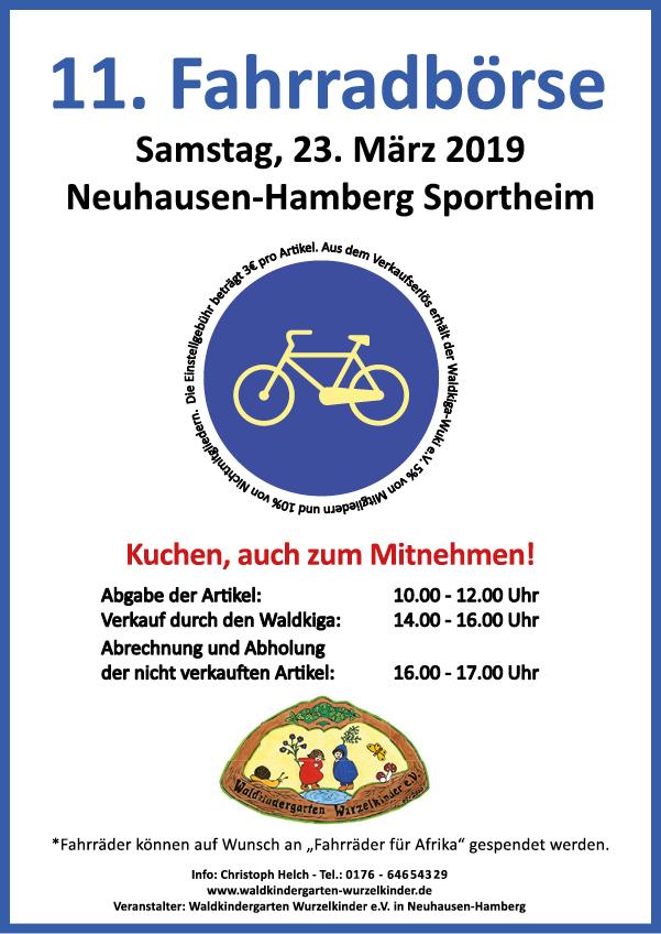 Flyer Fahrradboerse 23.3.2019