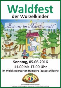 2016 Plakat Waldfest klein